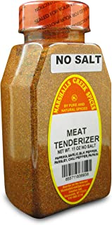 Marshalls Creek Kosher Spices, (st07), SEASONED MEAT TENDERIZER NO SALT 11 oz