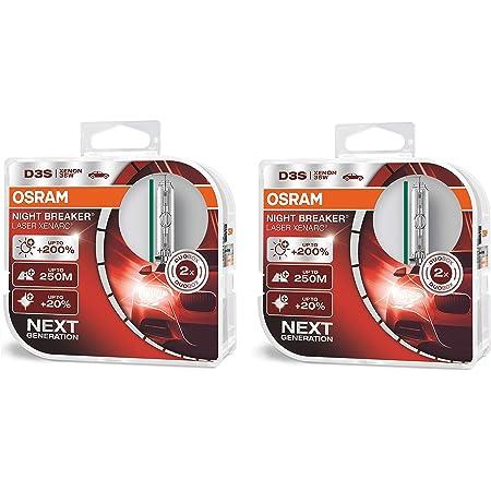 Osram Xenarc Night Breaker Laser D3s 200 More Brightness Hid Xenon Headlight Bulb Auto