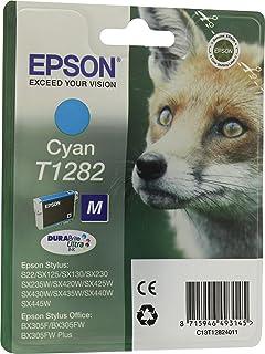 Epson C13T12824022 Cyan Original Tintenpatronen Pack of 1