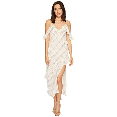 ASTR the Label Laurel Dress (Cream/Sky Multi) Women