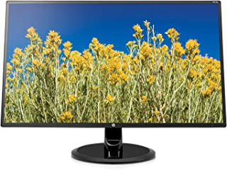 HP 24-inch FHD IPS Monitor with Tilt Adjustment and Anti-glare Panel (24yh, Black) (Renewed)