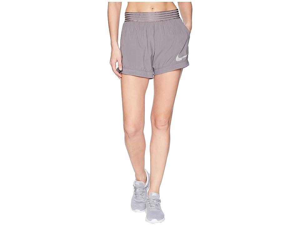 Nike Flex Training Short (Gunsmoke/Atmosphere Grey) Women
