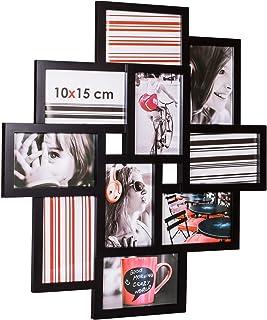 Ceanothe - 34438 - Détroit Cadre Photo - Multi-Vues - 10 x 15 cm - Noir
