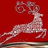クリスマストナカイのコラージュ