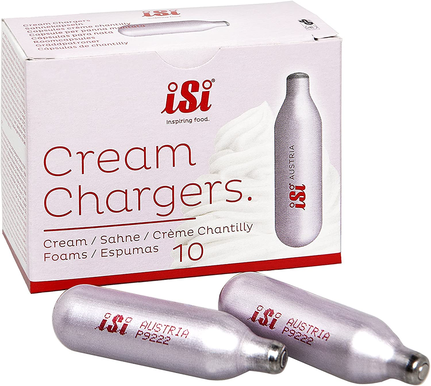 ISI Sahnekapsel Professional Chargers 30er Pack