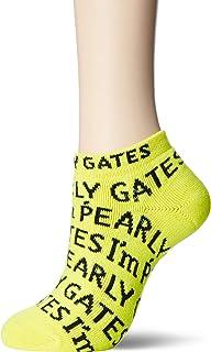 [パーリーゲイツ] [レディース] アンクルソックス I'm Pearly Gates 柄 / 053-9186314