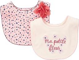 Kate Spade New York Kids - Ma Petite Fleur Bib Set