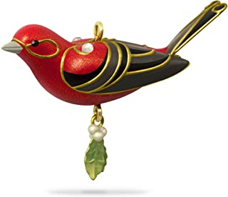 "Best Hallmark Keepsake Mini Christmas Ornament 2018 Year Dated, Red Tanager Bird Miniature, 1.13"" Review"