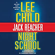 jack reacher night school audiobook