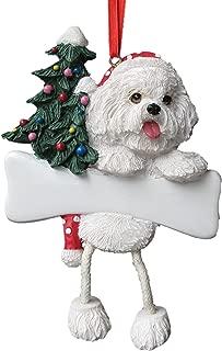 Bichon Frise Ornament with Unique