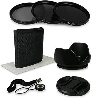 67mm 6in1 Pack de Accesorios para cámaras Canon EOS 40D | 5D Mark III | 60D | 6D | 7D | EOS 1D X - Nikon D5100 | D5300 | D7000 | D7100 | D90 - Olympus E-30