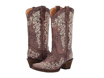 Corral Boots Kids A2773 (Little Kid/Big Kid) Cowboy Boots