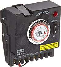 P1100 Series Swimming Pool Timers, 24 Hour Electromechanical Control, 240 VAC Input Supply with Fireman Switch, DPST Contact, 40A Resistive/Inductive Rating, 7.5 HP