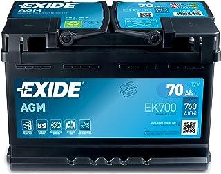 Exide 096 AGM bilbatteri 70Ah AGM700 EK700