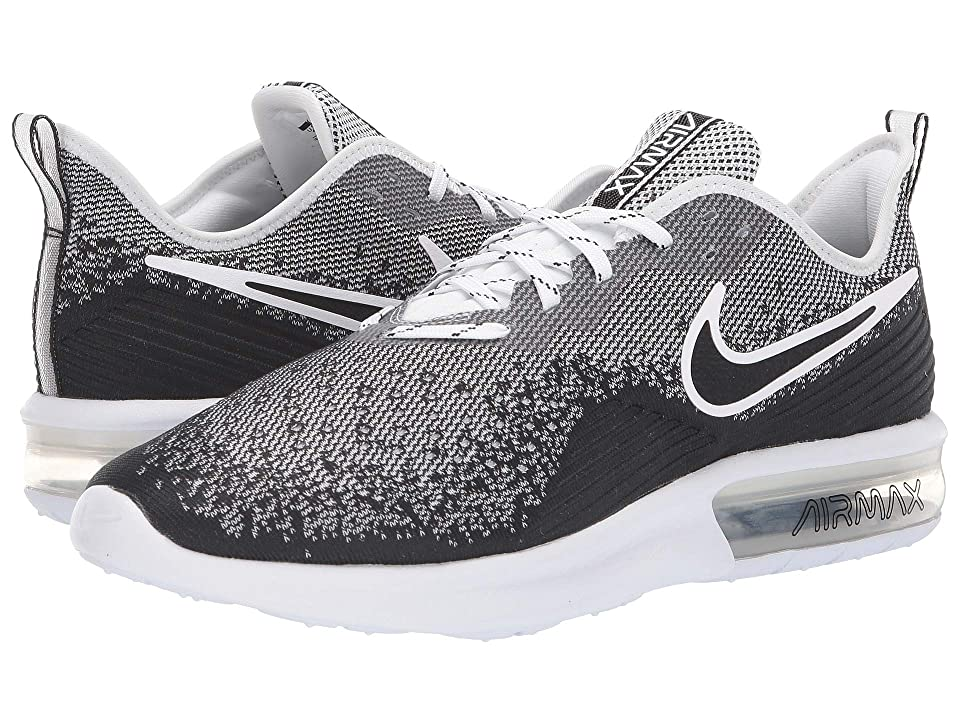 Nike Air Max Sequent 4 (Black/Black/White) Men