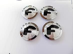 Forgiato Center Cap Chromed and Brushed Finish Set of 4