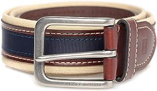 Tommy Hilfiger Multi Color Leather Belt For Men