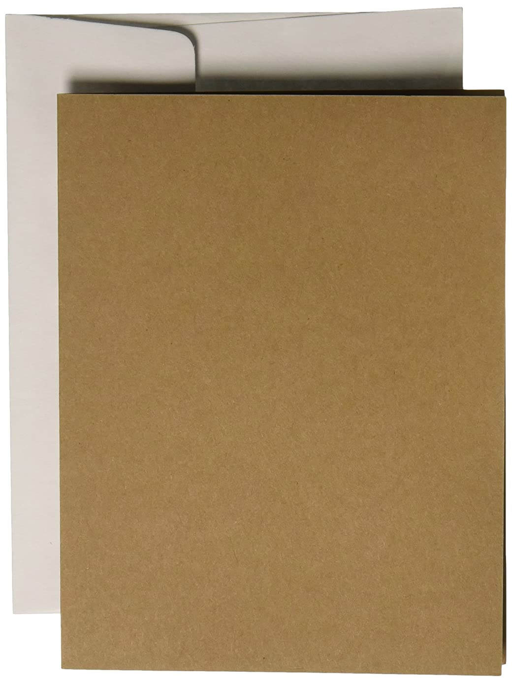 Darice Coordination's A2 Size Cards and Envelopes (Set of 50), Assorted Neutral