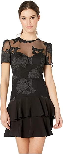 Flower Frill Dress