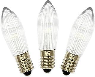 E10 Cree LED 6V 12V 24V Taschenlampe Birne lampe Glühbirne weiß kaltweiß DC