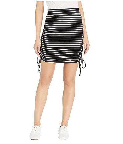 Carve Designs Bianca Skirt (Black Stripe) Women