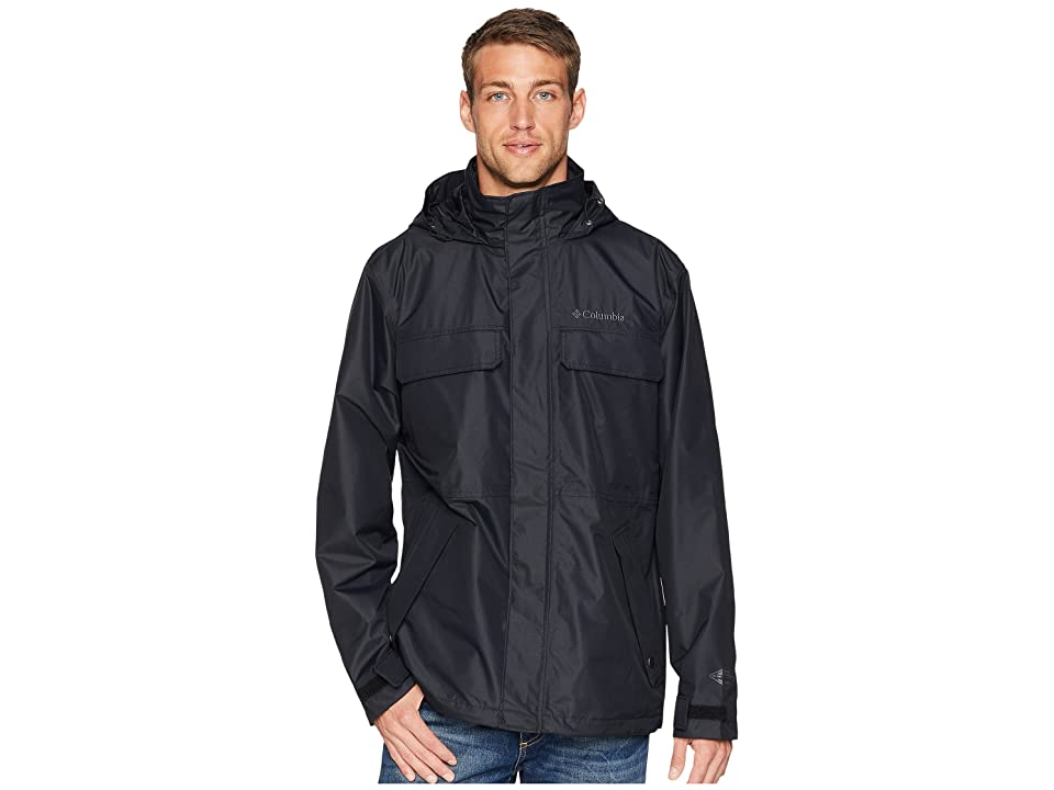 Columbia Dr. DownPour II Jacket (Black) Men