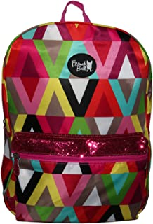"""Accessory Innovation French Bull-Girl's 16"""" Bella Backpack-Viva, Multi-Colored, One Size"""