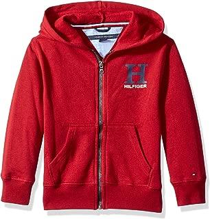 Boys' Long Sleeve Matt Logo Zip Up Hoodie