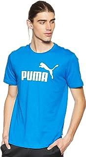 تي شيرت بتصميم طويل بطبعة شعار العلامة التجارية للرجال من بوما