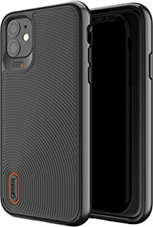 GEAR4 Battersea Compatible with iPhone 11 Case, Advanced Impact Protection with Integrated D3O Technology Phone Cover - Black