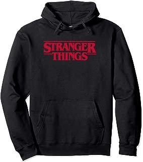 Stranger Things Logo Hoodie