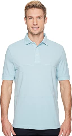 Nautica - Short Sleeve Garment Dyed Polo