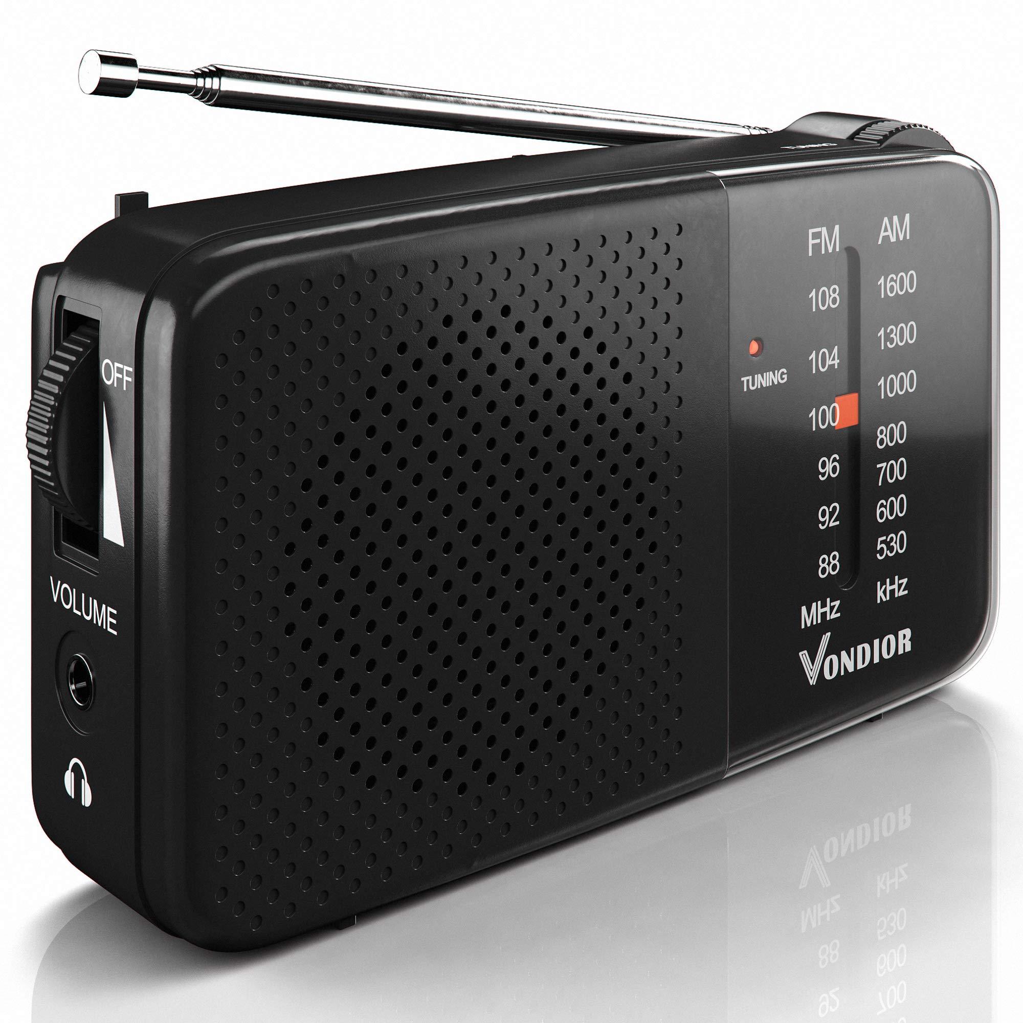 AM FM Radio Reception Headphone