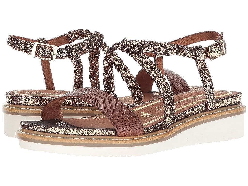 ef774ddfa Tamaris Eda 1-1-28206-20 (Cognac) Women s Sandals