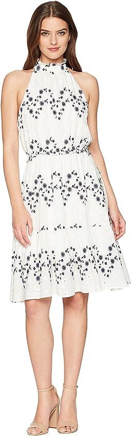 J.O.A. - Halter Neck Midi Dress