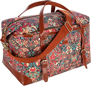 BAOSHA Large Women's Colorful Travel Duffel Weekender Bag Overnight Carry-on Tote Bag HB-39 (HS)