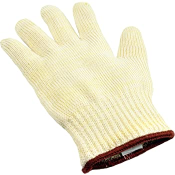 G & F 1689L Dupont Nomex & Kevlar Heat Resistant Oven Gloves, for BBQ, Fireplace,and Grilling. Commercial Grade, Large, Sold by 1 Piece
