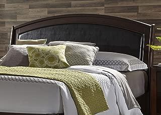 Liberty Furniture INDUSTRIES 505-BR24HL Avalon King Platform Leather Headboard, Dark Truffle