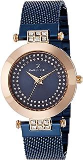 Daniel Klein Analog Blue Dial Women's Watch - DK11145-5