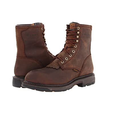 Ariat WorkHogtm 8 H20 Composite Toe (Oily Distressed Brown) Men