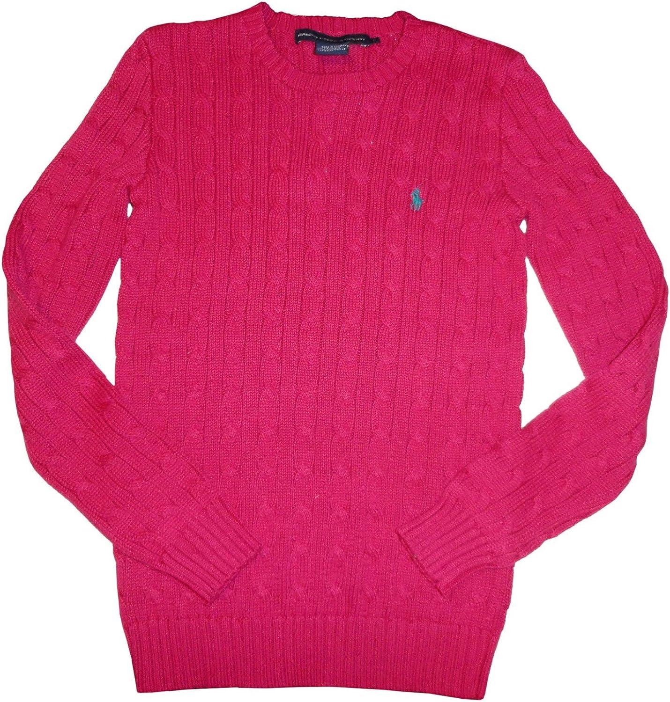 Ralph Lauren Women's Sport Sweater Pink Size Medium