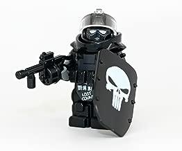 Modern Brick Warfare Custom Juggernaut Army Assault Soldier Call of Duty Skull Custom Minifigure