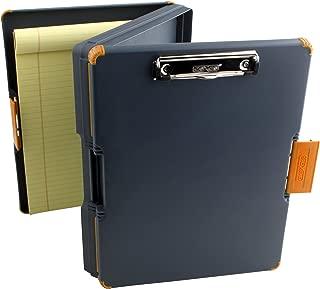Dexas Duo Clipcase Dual Sided Storage Case and Organizer, Orange