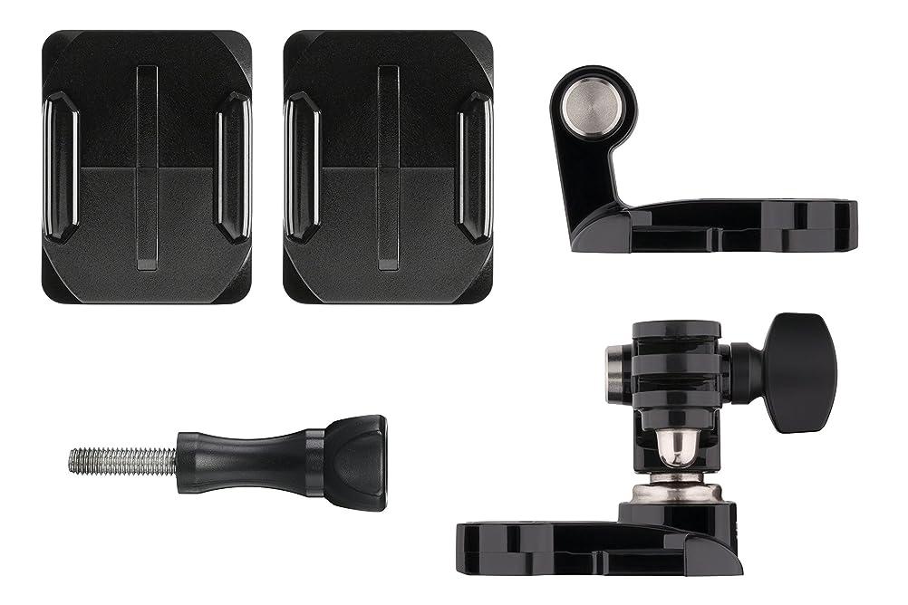 徴収取り付け願望【国内正規品】 GoPro ウェアラブルカメラ用アクセサリ ヘルメット フロント + サイド マウント AHFSM-001
