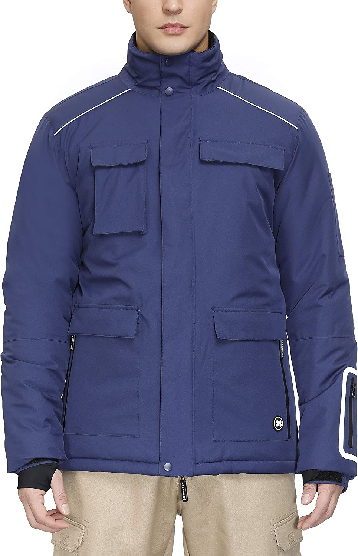 Men's Max 59% OFF Mountain Waterproof Ski Jacket Rain Snow Windproof Coats Las Vegas Mall w