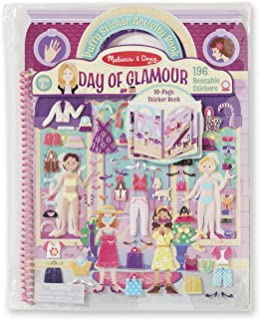 Melissa & Doug Puffy Sticker Play Set, Glamour (Reusable Activity Book,196 Stickers, Great for Travel, Great Gift for Girls and Boys – Best for 4, 5, 6, 7 and 8 Year Olds)