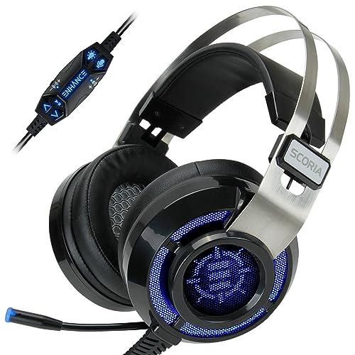 Headset 7.1 Sound PS4 and PC: Amazon.com