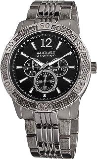 August Steiner Men's Urbane Quartz Multifunction Sport Bracelet Watch