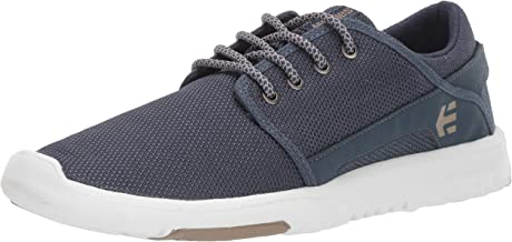 Etnies Men's Scout Skate Shoe Navy/Tan/White 14 Medium US