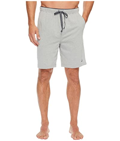 Nautica Knit Sleep Shorts (Grey Heather) Men
